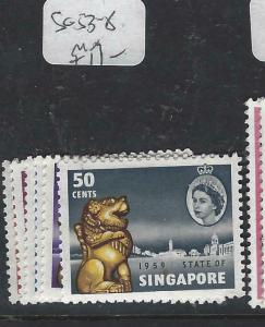 SINGAPORE  (P1404BB)  QEII  SG 53-8   MOG