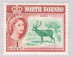 North Borneo 280 MNH Malayan Sambar 1961 (BP52017)