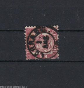 BADEN 1868  3 KREUZER ROSE  REF R204