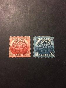 Netherlands Antilles sc 206,207 uhr