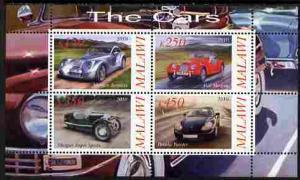Malawi 2010 Cars Motoring Transport Porsche Morgan Motor S/S Stamps MNH (1)