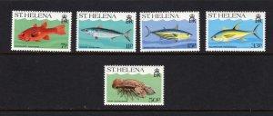 St St. Helena Fish Marine Life MNH