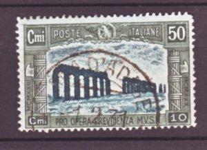 J22558 Jlstamps 1930 italy used #b36 design