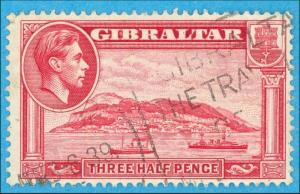 Gibraltar 109b - Perforiert 13.5 keine Fehler Sehr Fein