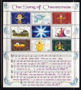 Christmas Island Sc 88 stamp sheet mint NH