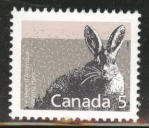 Canada Scott 1158 MNH** 5c Varying hare