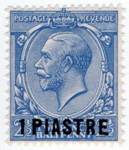 (I.B) Lebanon Postal : British Levant 1pi on 2½d OP (SG 36)