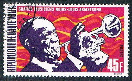 Upper Volta 270 Used Louis Armstrong (BP0855)