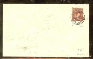 ST LUCIA (P2104B)  1953 KGVI 3C LABORIE