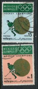 Pakistan #267-8 Used