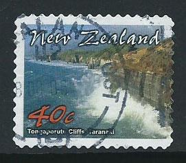 New Zealand SG 2516c  VFU perf 11