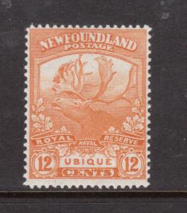 Newfoundland #123 Mint Very Lightly Hinged