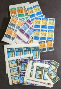 EDW1949SELL : SHARJAH 2 Different Complete sets. VF, Mint NH. 8-9 sets of each