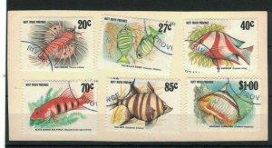 MCR19) Hutt River Province 1982 Coral Fish CTO/Used