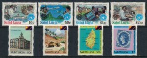St. Lucia #603-10*  CV $6.05