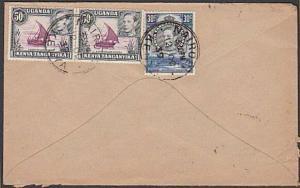 KENYA UGANDA TANGANYIKA 1939 (12 OC) cover to UK ex NAIROBI................57757