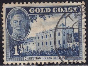 Gold Coast 131 USED 1948 Christiansborg Castle, Accra