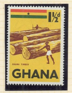 Ghana 1959 (5 Oct) Early Issue Fine Mint Hinged 1.5d. NW-99778
