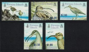 Pitcairn Bristle-thighed Curlew Birds 5v SG#694-698