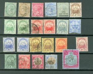 BERMUDA EARLY LOT of 23...MINT/USED...$150.00