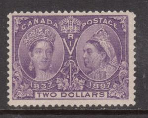 Canada #62 Mint Never Hinged **With Certificate**