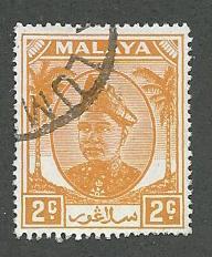 Malaya-Selangor  Scott 81  Used