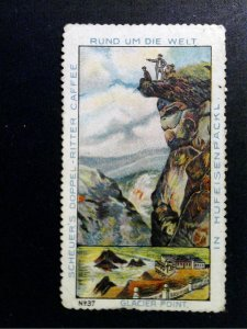 German Poster Stamp - Around the World/Rund um die Welt #37