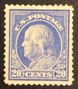 TangStamps US Stamp #419 Franklin Mint NH Clean PF Cert CV $400
