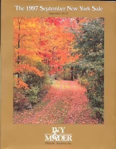 Ivy & Mader: Sale #   -  The 1997 September New York Sale...