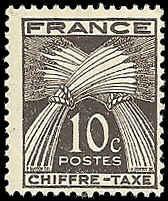 France - J69 - MNH - (Penciled Back) - SCV-0.25