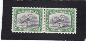 South West Africa,  #  108    unused  pair