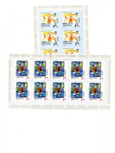 Lithuania 1997  Europa sheets Mint VF NH - Lakeshore Philatelics