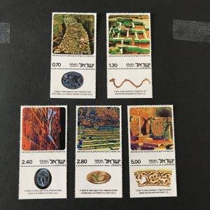 Israel 1977 #611-15 Tab, MNH