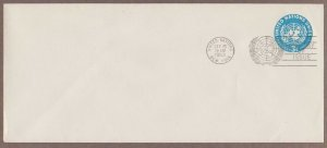 UN # U1 Uncacheted Pre Stamped Postal Stationery FDC - I Combine S/H