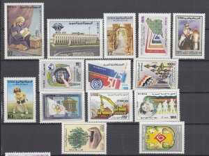 J28863, 1994-5 syria stamps all dif mnh #