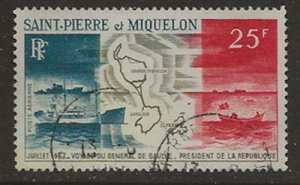 Saint-Pierre & Miquelon C35 u
