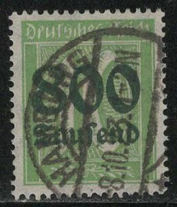Germany Reich Scott # 262, used, exp h/s