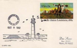 United States, Event, Mississippi, Fancy Cancels, Lighthouses