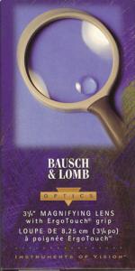 Bausch & Lomb Round Magnifier, 2X/4X, 31/4, 01812