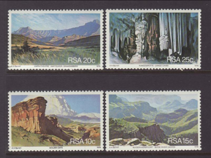 South Africa 511-514 Landscapes MNH VF