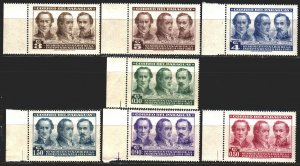 Paraguay. 1961. 891-97 from the series. 150 years of independence of Paraguay...