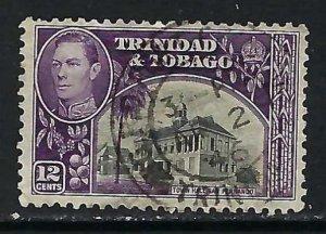 TRINIDAD &TOBAGO 57 VFU X384-3