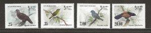 Sri Lanka Scott catalog # 691-694 Mint NH See Desc