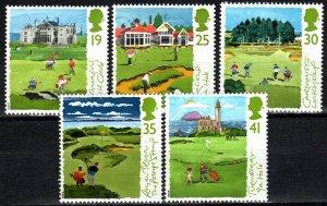 Great Britain #1567-71   MNH  CV $3.25 (X994)