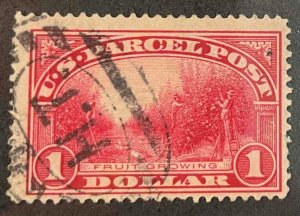 US Stamps #Q12 Used Parcel Post #Q12A147