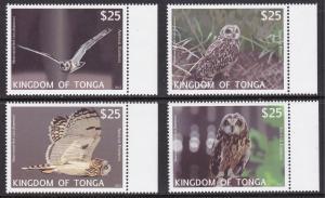 Tonga, Fauna, Birds, Owls MNH / 2012