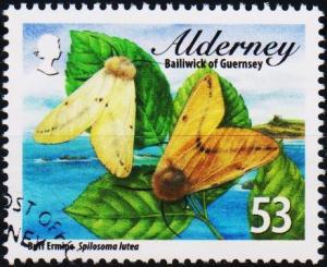 Alderney. 2012 53p fine Used