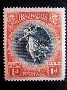BARBADOS - SCOTT#150 - MH - CAT VAL $57.50
