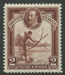 STAMP STATION PERTH British Guiana #211 - KGV Definitive Issue MLN CV$1.75