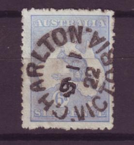 J16412 JLstamps 1915-24 australia used #48a kangaroo wmk 10